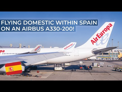 TRIPREPORT | Air Europa (ECONOMY) | Airbus A330-200 | Barcelona - Madrid