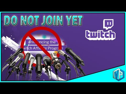 Do NOT Join Twitch Affiliate Program! (CONSIDER THIS FIRST)