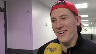 MrMadhawk.se Emil Sylvegård efter comebacken mot Djurgården 2019-01-24