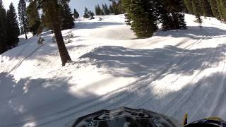 Snowmobiling Iron Mountain, California Amador County Sierra Nevadas - Part 10