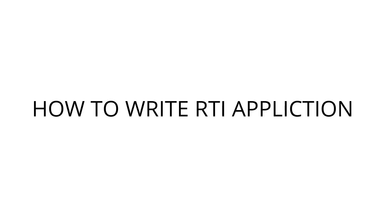 How to write rti application right to information act 2005 how to write rti application right to information act 2005 lesson 1 spiritdancerdesigns Gallery