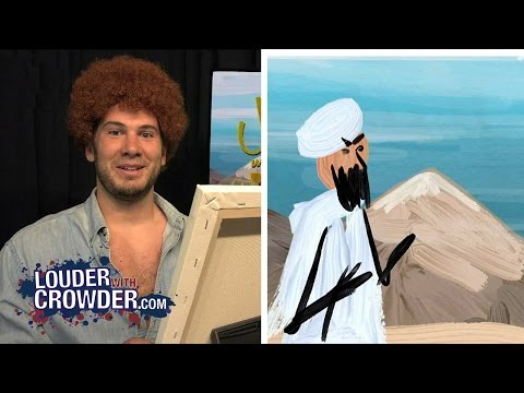Painting Muhammad with Bob Ross | Louder With Crowder