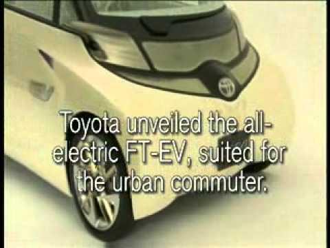 Johannesburg Motor Show: Honda's robot and Toyota's FT-EV
