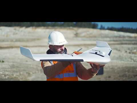 Delair UX11 - The professional mapping drone