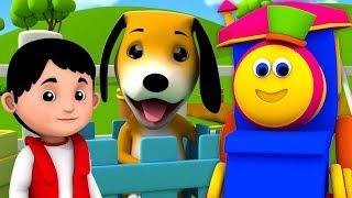 Прилагательные Песня | Обучающее Видео Для Детей | Adjectives Song | Bob Train Kids Learning Video / Видео