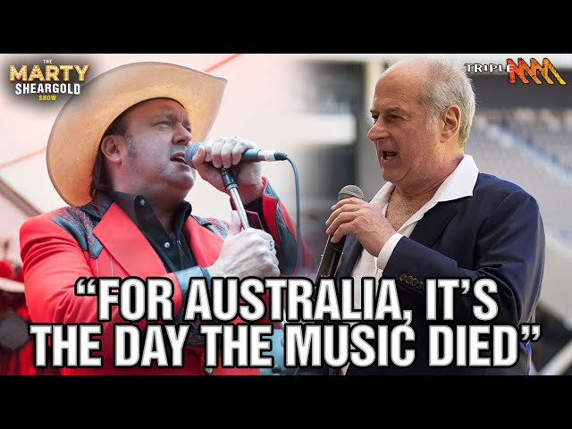 James Young Pays Tribute To Michael Gudinski | The Marty Sheargold Show | Triple M