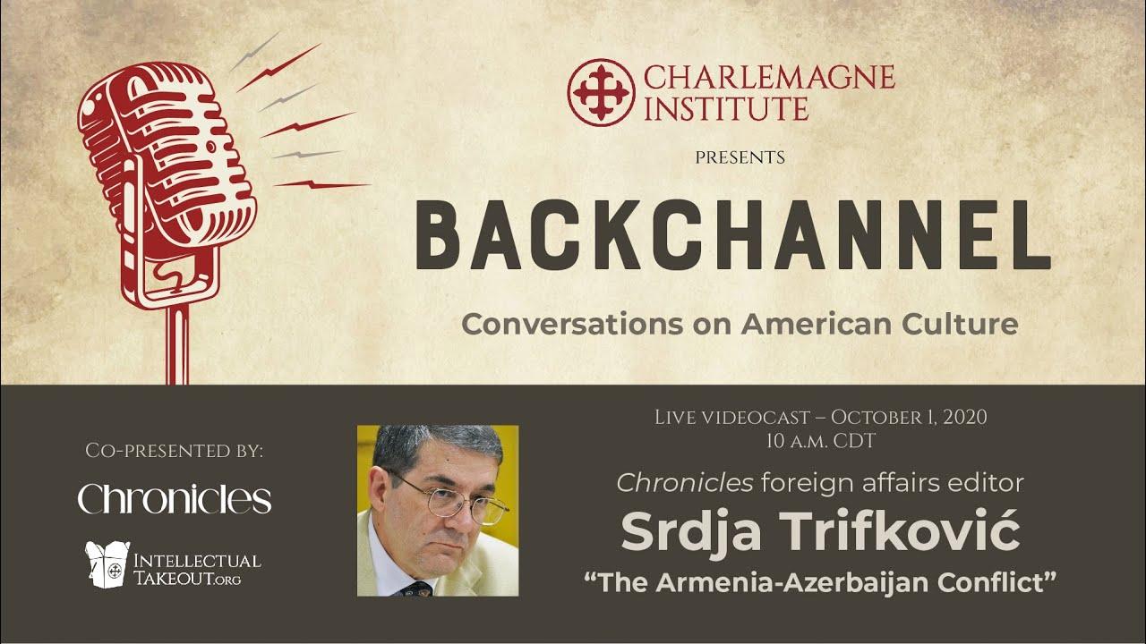 "Download Srdja Trifković on ""The Armenia-Azerbaijan Conflict"""