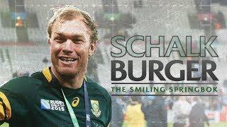 Schalk Burger | The smiling Springbok