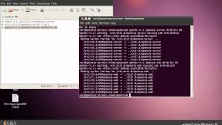 Installation des scripts de démarrage automatique d'OpenERP.
