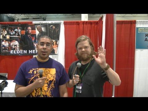 Elden Henson at the Motor City City Comic Con 2016