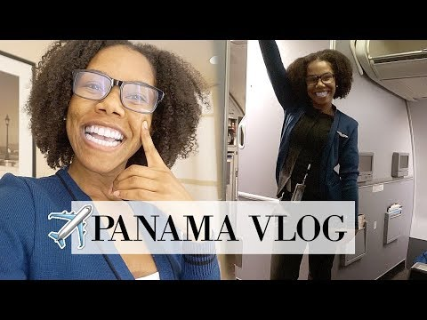 DAY IN THE LIFE OF A FLIGHT ATTENDANT | PANAMA VLOG
