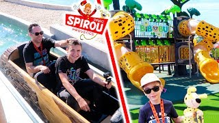 VLOG - 100 FUN AU PARC SPIROU ! - Attraction Aquatique & Maneges