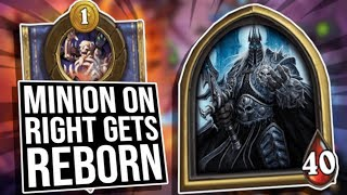 A Game of Kings: Epic Lich King Comeback! | Battlegrounds | Hearthstone