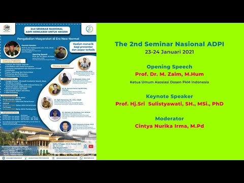 The 2nd Seminar