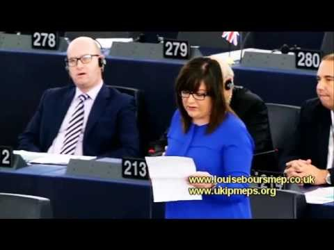 EU gender balance contradictions - UKIP MEP Louise Bours