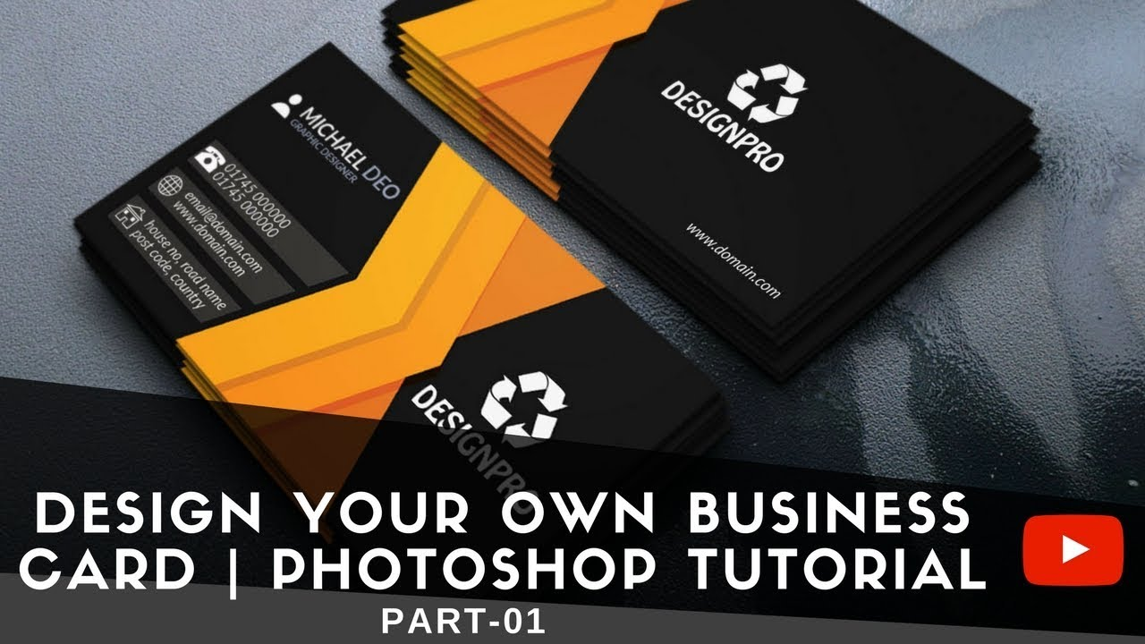 Create your own business cards photoshop tutorial part 01 youtube create your own business cards photoshop tutorial part 01 reheart Images