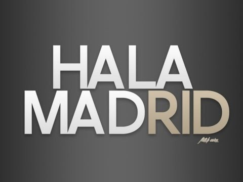 Hala Madrid y Nada Mas (with English Lyric + Karaoke)