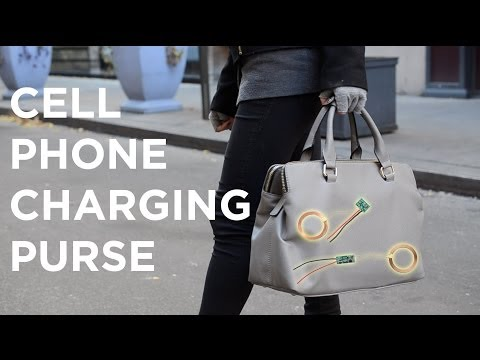 Cell Phone Charging Purse - the Power of Induction