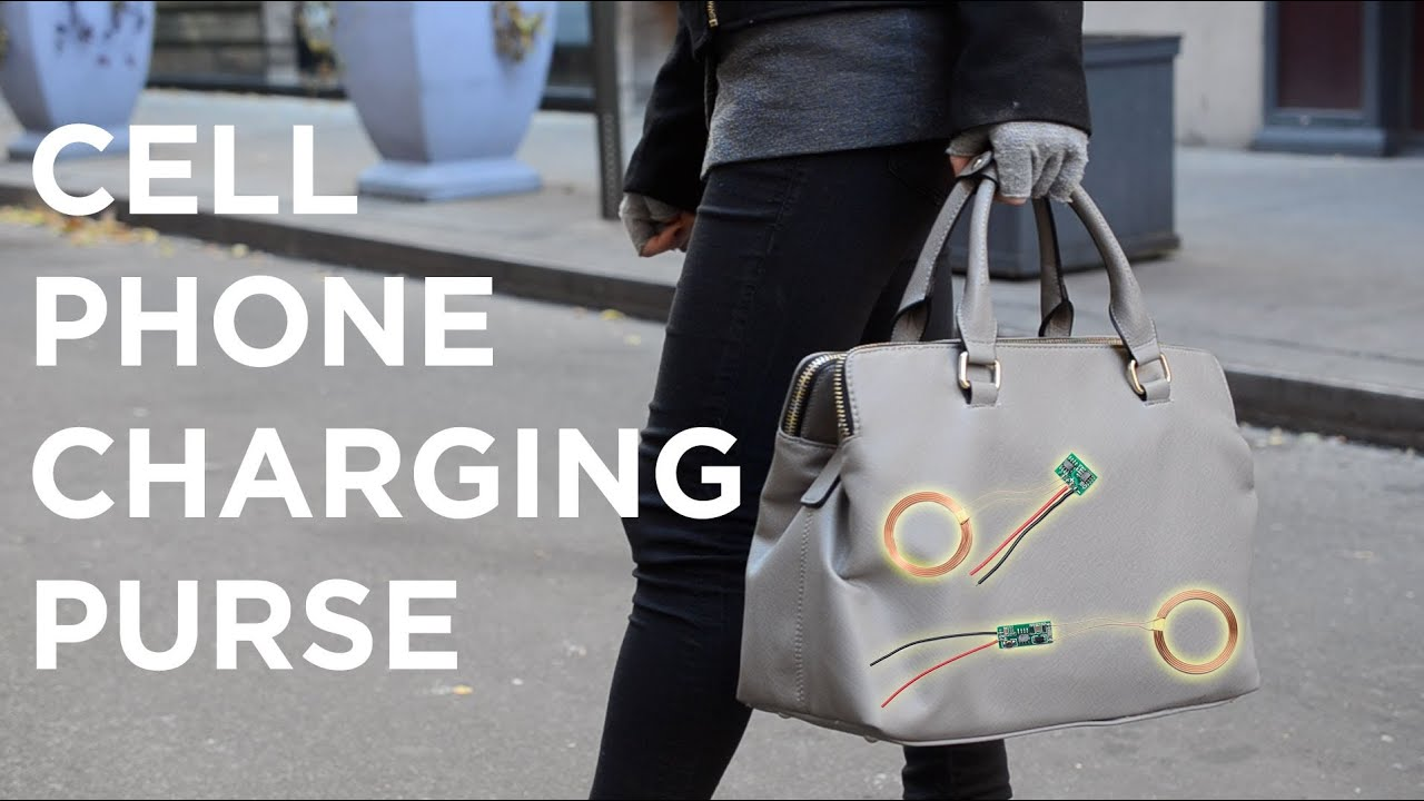 Cell Phone Charging Purse The Of Induction