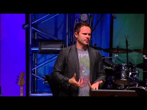 Sean McDowell speaks during Momentum Youth Conference 2012