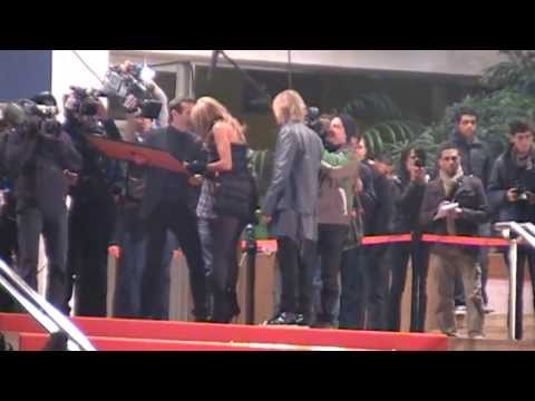 ,David Guetta,Cathy Guetta,Shakira,NRJ Music Awards 2011,Cannes,Palais des Festivals,Red Carpet - 17