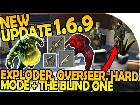 UPDATE 1.6.9 -NEW GUNS, OVERSEER, EXPLODER, BUNKER HARD MODE Last Day On Earth Survival 1.6.9 Update