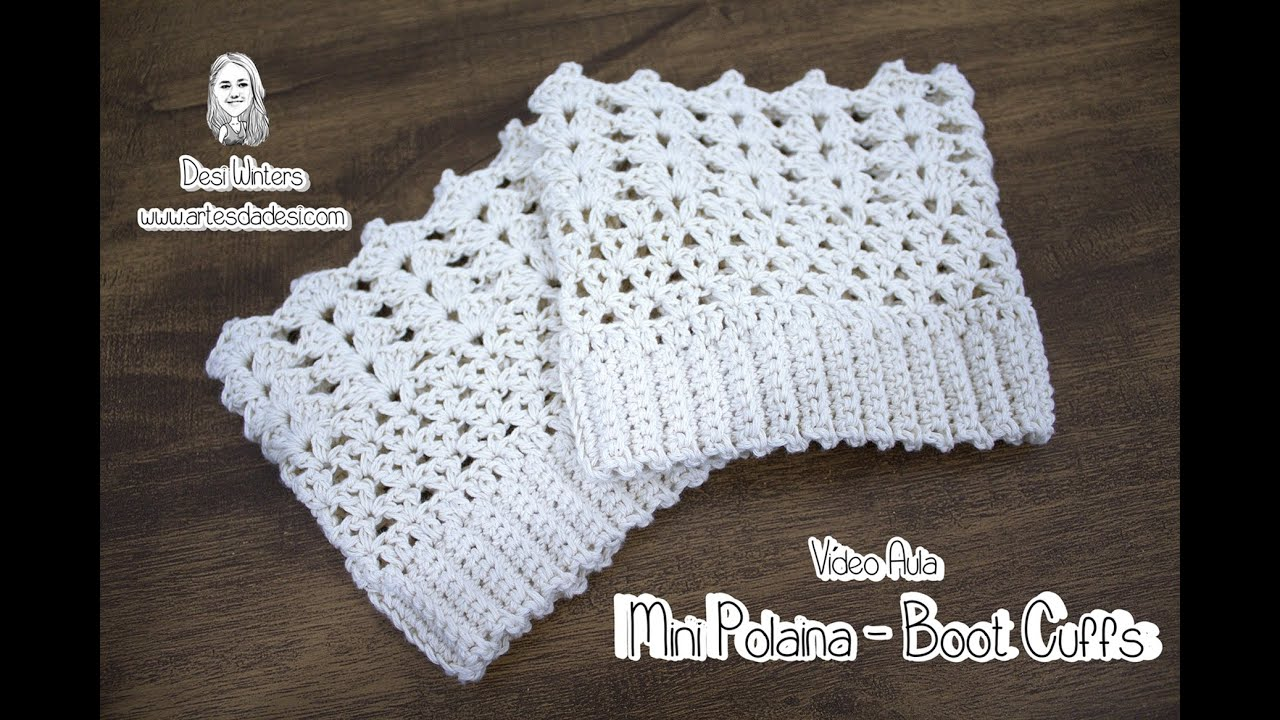Meia de Crochê Tam Adulto - Passo a passo Professora Simone - YouTube  Crochet Butterfly 48a9150c02a