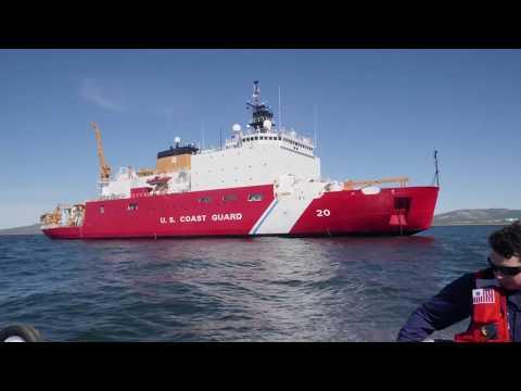Coast Guard Cutter Healy - 2017 Tour