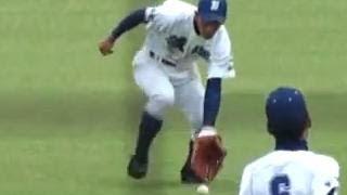 【好返球】 飯塚高 田中 智也 選手 補殺