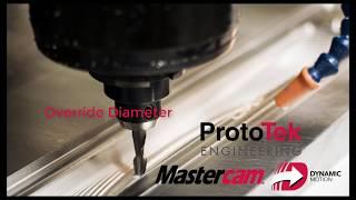 Mastercam 2020 - Override Diameter
