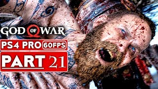 GOD OF WAR 4 Gameplay Walkthrough Part 21 [1080p HD 60FPS PS4 PRO] - No Commentary