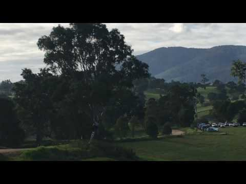 Richard knight 2017 Rally of Bega 2017 first stage