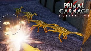 COMPY AMBUSH + GLITCHES!! Primal Carnage Extinction Survival || PART 2