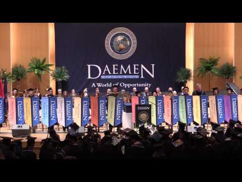 Daemen College Sixty Sixth Undergraduate Commencement