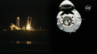 SpaceX Crew Dragon DM-1 Launch & Docking