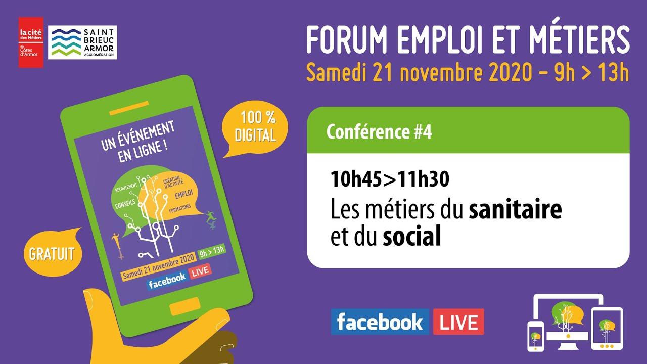 Forum Emploi Métiers 8 - #8 - Les métiers du sanitaire et du social