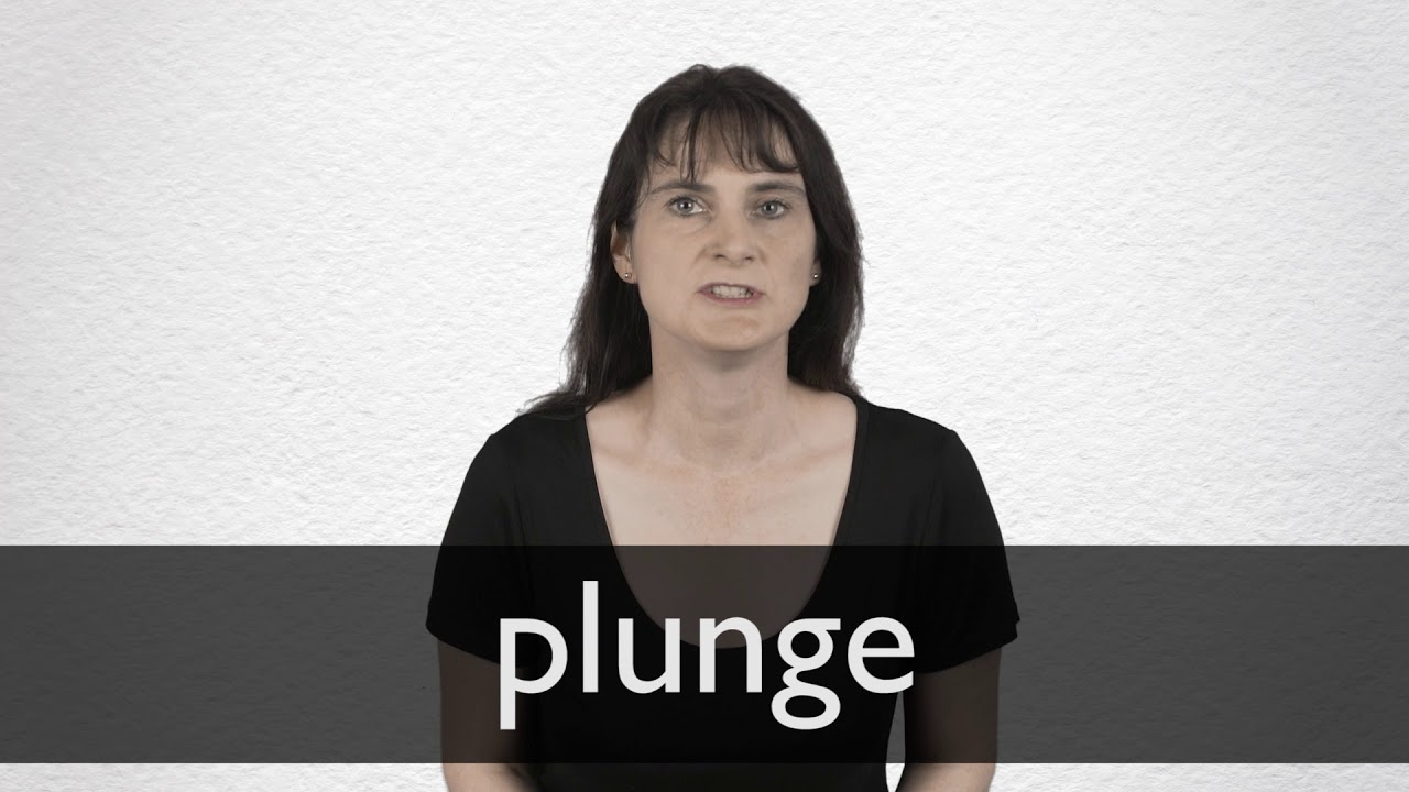 Plunge definition and meaning   Collins English Dictionary