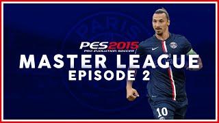 "PES 2015: Master League w/ PSG - ""3 NEW TRANSFERS!"" - #2"