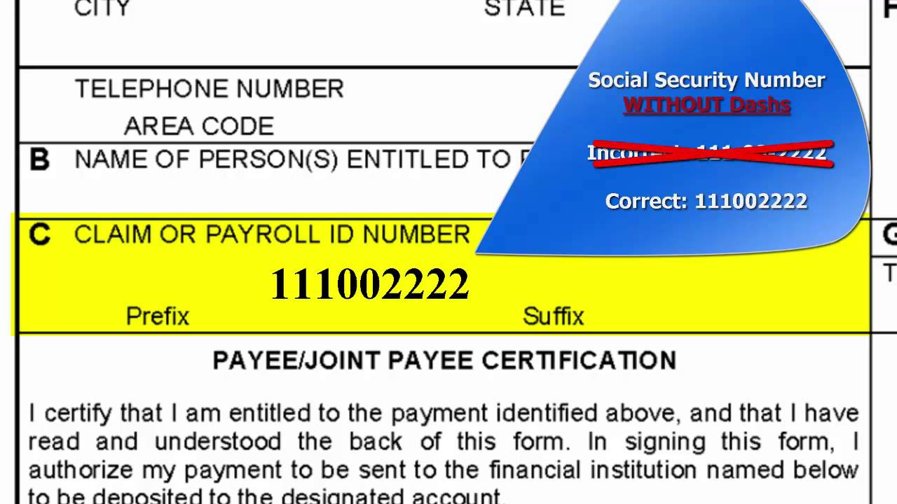 NCNG Retirement Services, SF 1199A (Direct Deposit Form) - YouTube