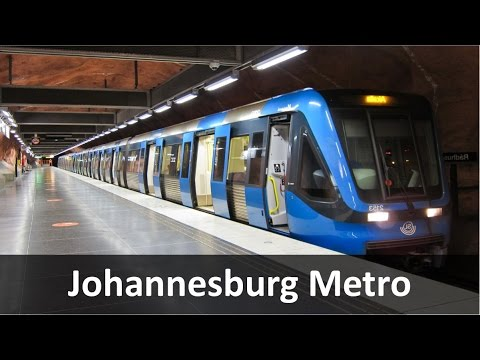 Johannesburg Underground Metro Rail