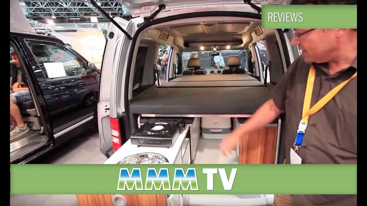mmm tv motorhome review reimo active campervan conversion. Black Bedroom Furniture Sets. Home Design Ideas