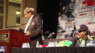 DON KING & AMIR IMAM POST FIGHT PRESS CONFERENCE