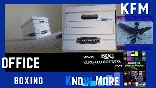 How To Assemble Bankers Box Put Together Office Storage File Boxes Video