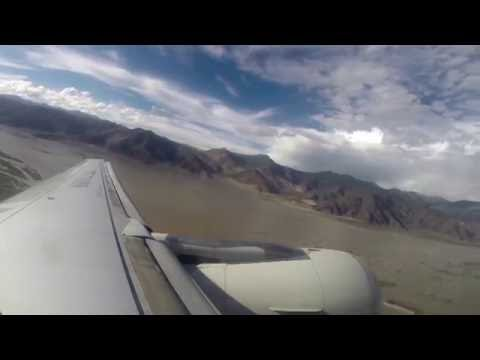 Aerial View Of Tibet from Lhasa