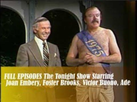 The Tonight Show Starring Johnny Carson   1 Jan 1975   Joan Embery, Foster Brooks, Victor Buono, Ade
