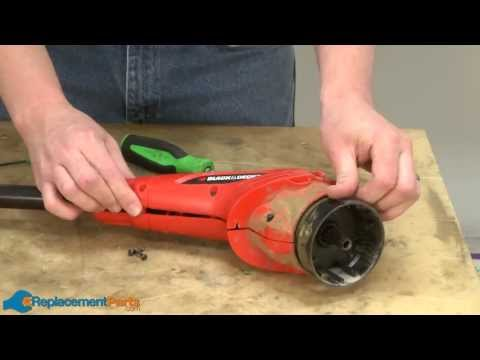 How to Replace the Motor Assembly on a Black and Decker CST1200 String Trimmer (Part # 90518725SV)