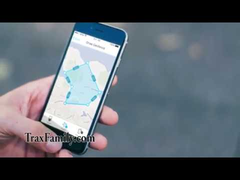 Trax personal GPS tracker - features