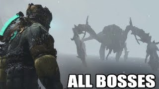 Dead Space 3 - All Bosses (With Cutscenes) HD 1080p60 PC