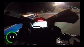 Canepa On board Paul Ricard 2018 in the night 312 km/h