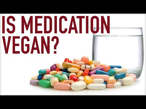 Is Medication Vegan?